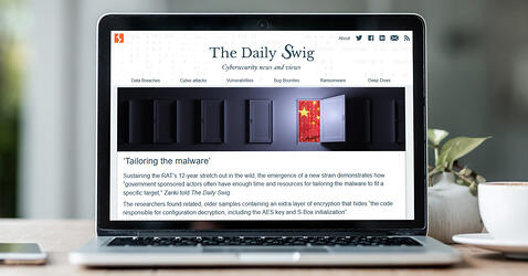 The Daily Swig: Twelve years a threat - State-sponsored attackers up the ante with new Taidoor malware strain