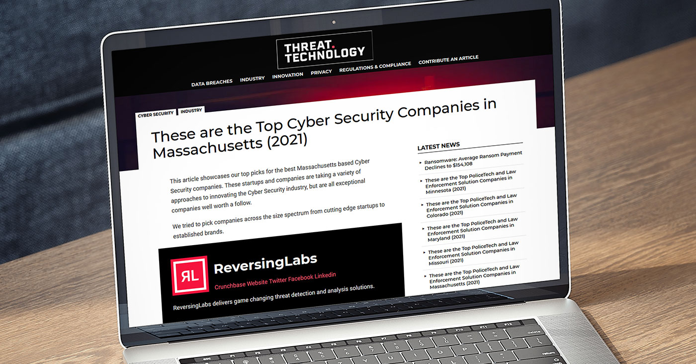 Threat Technology: The Top Cyber Security Companies in Massachusetts (2021)