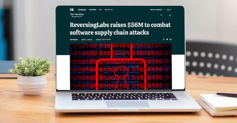 VentureBeat: ReversingLabs raises $56M to combat software supply chain attacks
