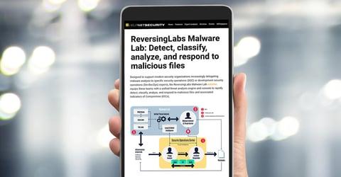 Helpnet Security: ReversingLabs Malware Lab - Detect, classify, analyze, and respond to malicious files