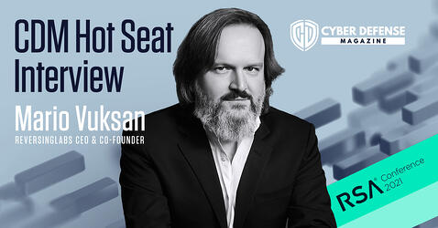 Cyber Defense Radio: Hot Seat Interview with Mario Vuksan
