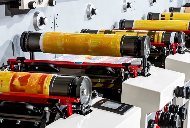Label Printing Snippet Part 28: Gear and servo drive printing presses