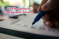 Label Printing Snippet Part 14: Plate mounting for flexographic printing