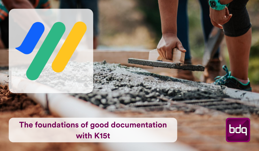The Foundations of Good Documentation with K15t