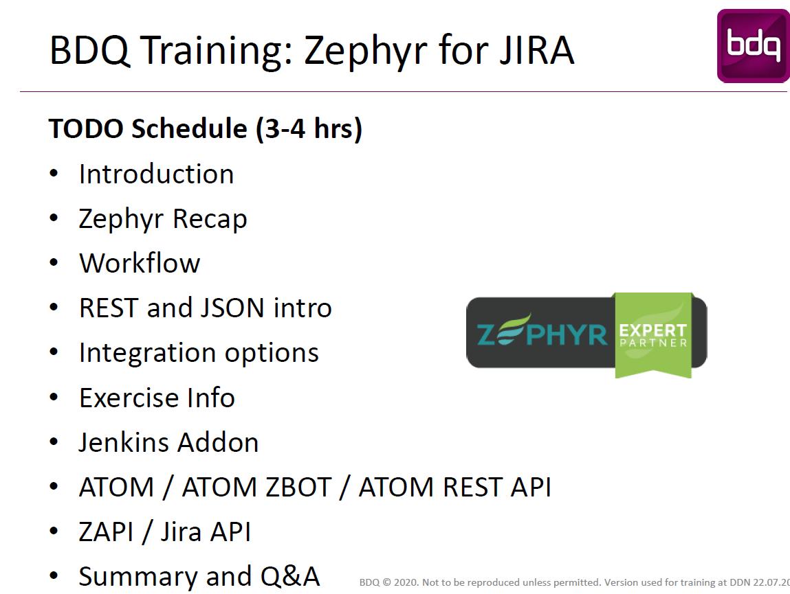 Zephyr for Jira Test Automation Workshop (2)
