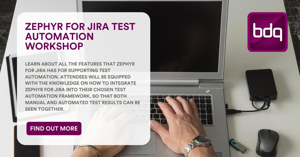 Zephyr for Jira Test Automation Workshop-1