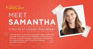 Photo of Samantha Carnall, Director of Account Management