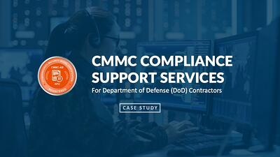 featured image for Deploying CMMC-Compliant Microsoft Cloud Services to DoD Contractor