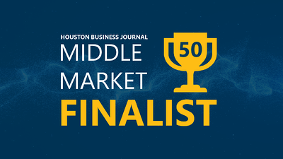featured image for Houston Business Journal's Middle Market 50
