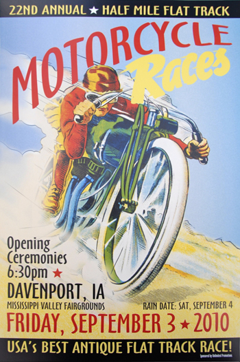 vintage motorcycle races