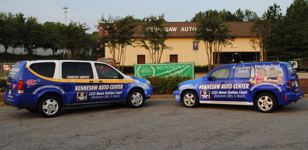 Uplander & HHR Vehicle Wrap