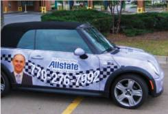 Vehicle Wrap Allstate