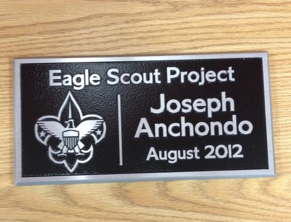 Boy Scout Eagle Scout Plaques