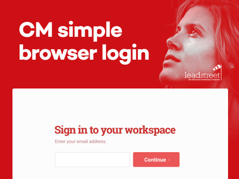 CM Simple Browser Login