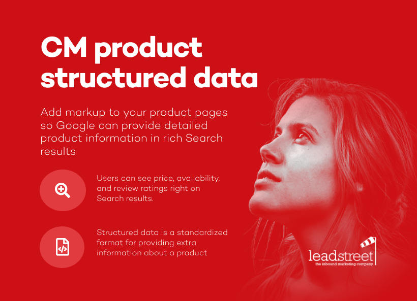 CM Product Structured Data