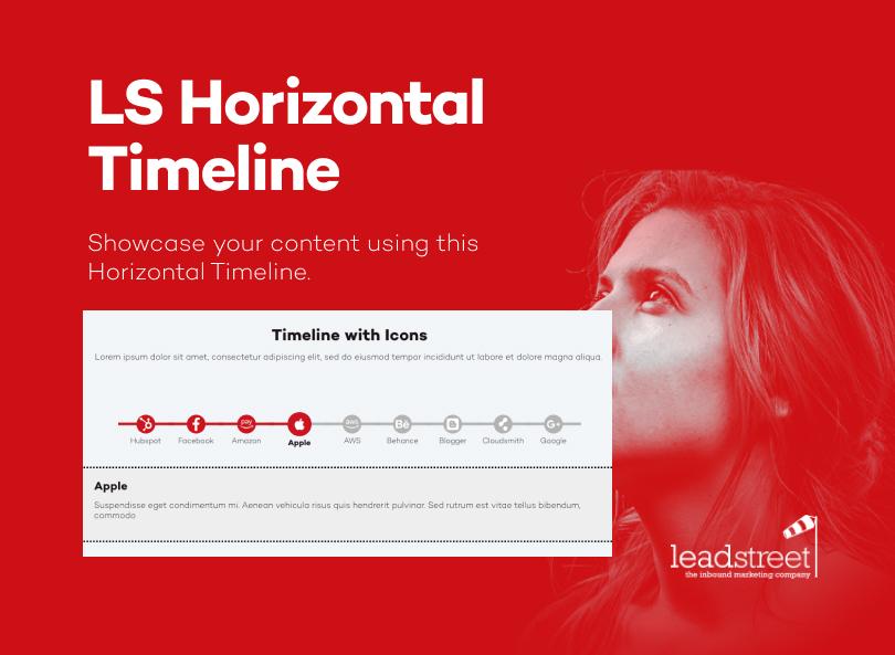 LS Horizontal Timeline