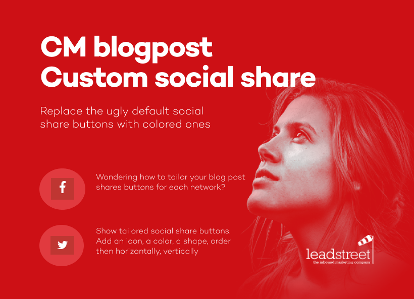 Blogpost Custom Social Share
