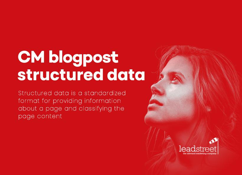 Blogpost Structured Data