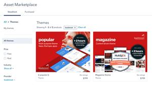 Website bouwen met HubSpot themes