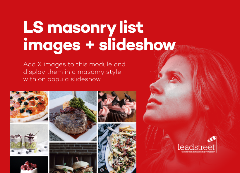 LS - Image Gallery masonry style with slideshow