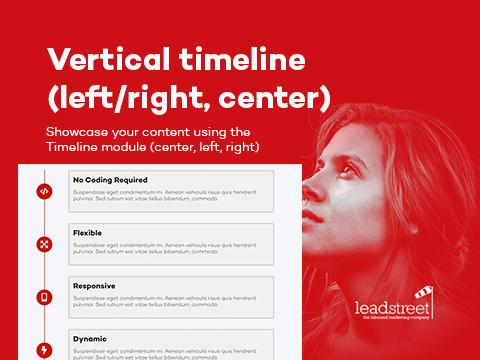 LS Vertical Timeline