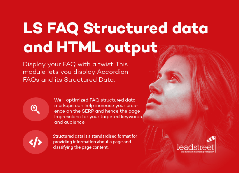 FAQ Structured data and HTML output