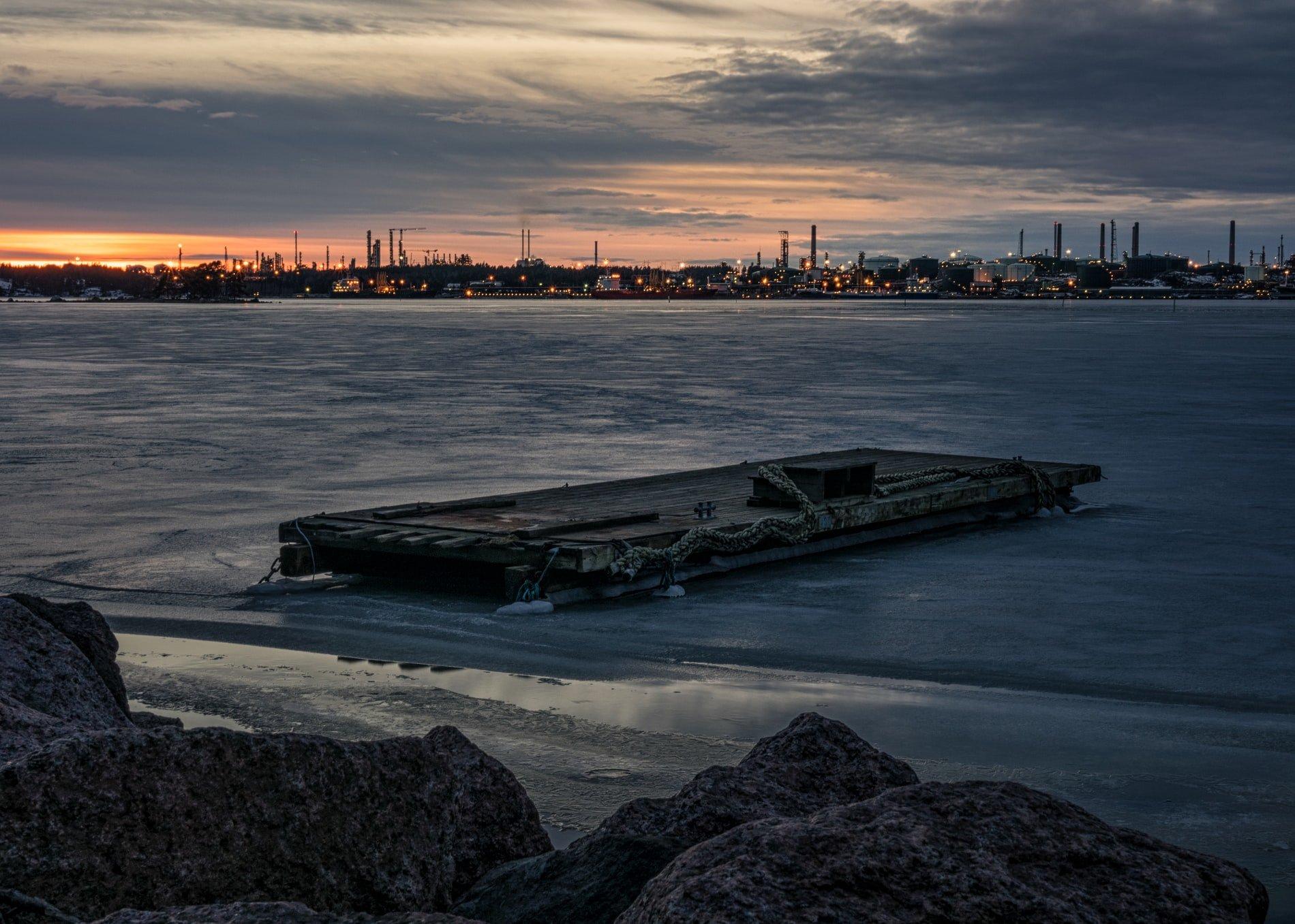 finland oil refinery