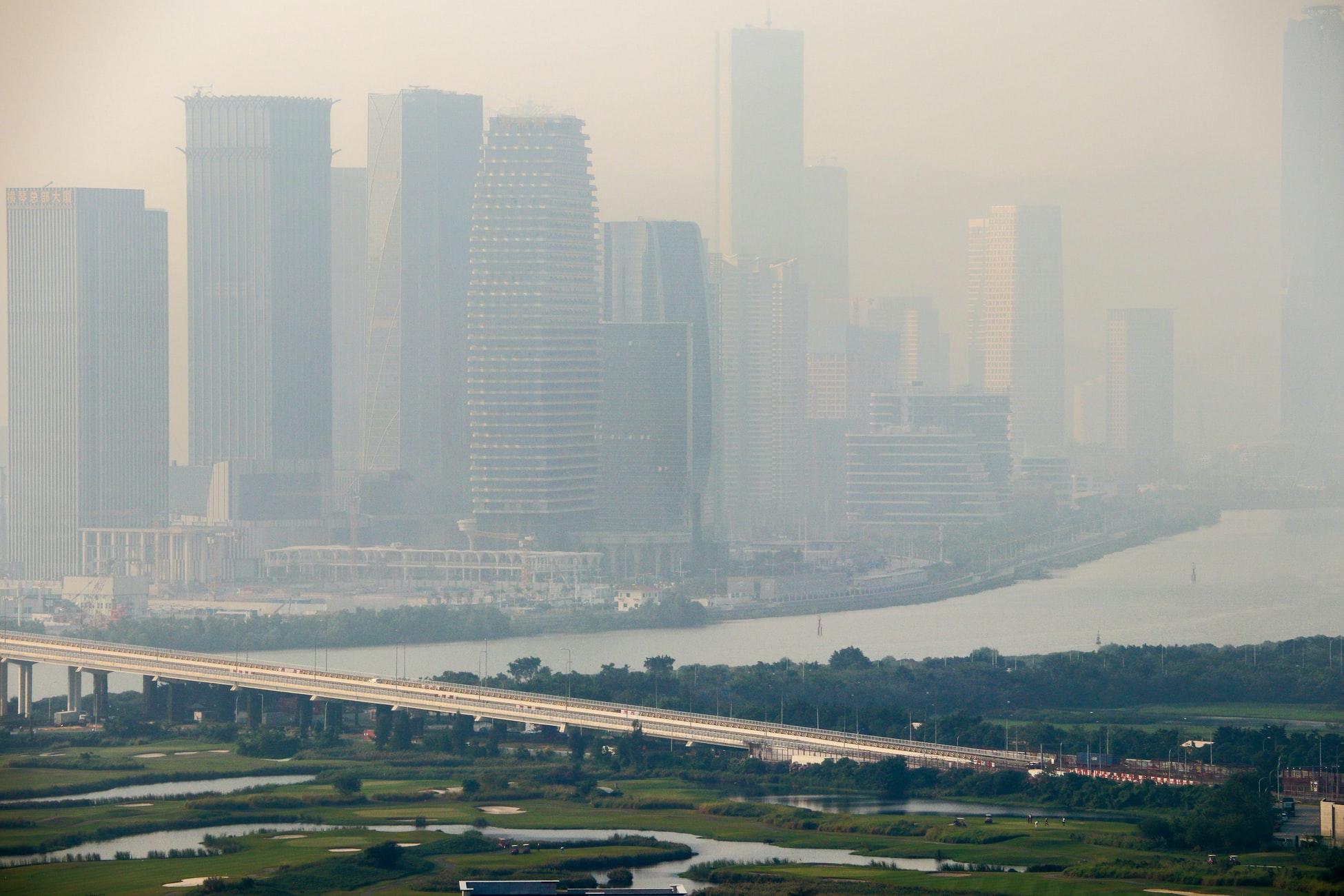 macau - pollution