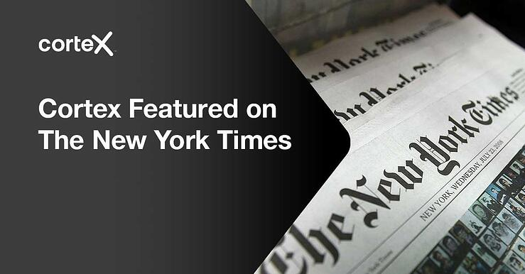 Cortex Featured on The New York Times Business Section