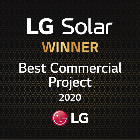 LG National Award for BEST COMMERCIAL PROJECT of 2020