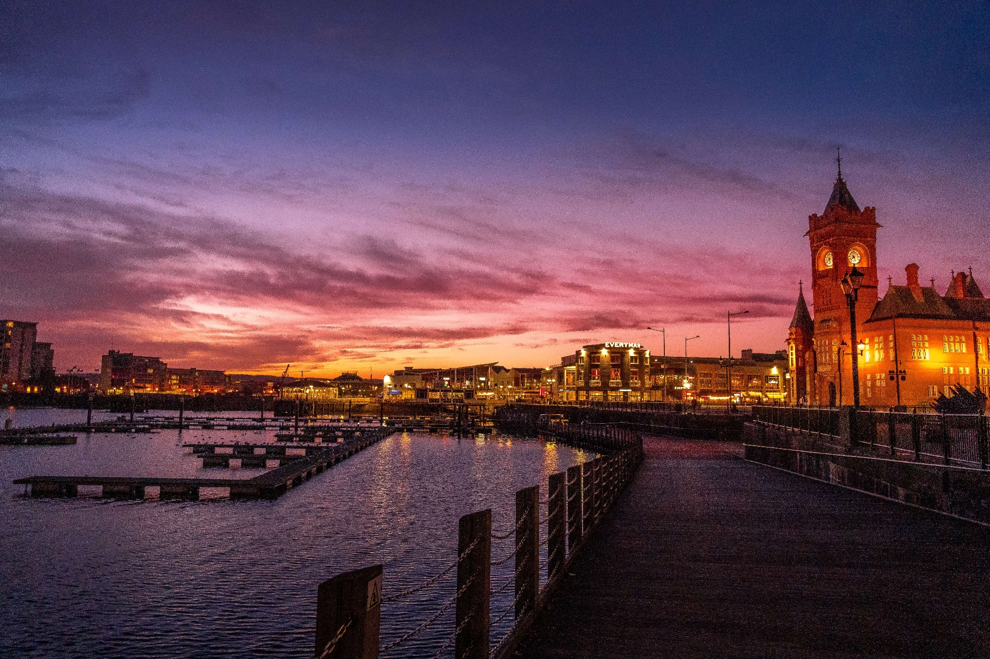 by Nick Fewings - Cardiff bay