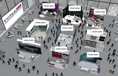 Virtual Trade Show - example