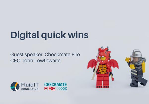 Digital Quick Wins webinar resources for directors in SME businesses