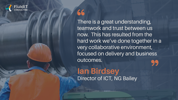 IFS solution and much more with NG Bailey