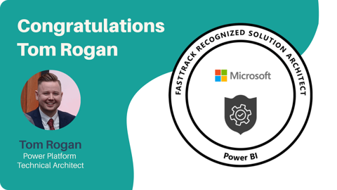 Microsoft awards Tom Rogan FastTrack Recognised Solution Architect