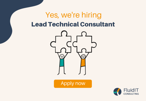 Join us: Lead Technical Consultant