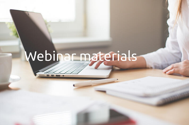 Webinar materials: ISO 20022 in the year 2020 – All you wanted to know but were afraid to ask