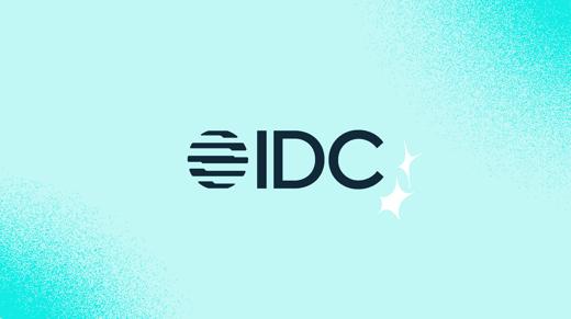 Logo de IDC