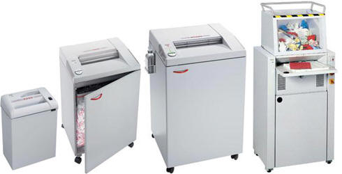 Four Destroyit Shredders machines offered by Benchmark