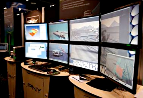 PNY Technologies Booth