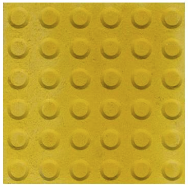 New and Improved Safety Yellow Tactile Indicator