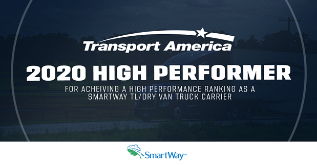 Transport America Achieves Smartway Ranking For Third Year