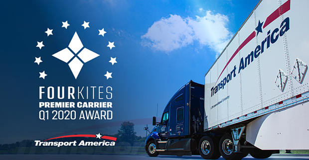 Transport America Wins Four Kites Premier Carrier Award