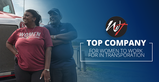Transport America a 2020 Top Company for Women in Transportation