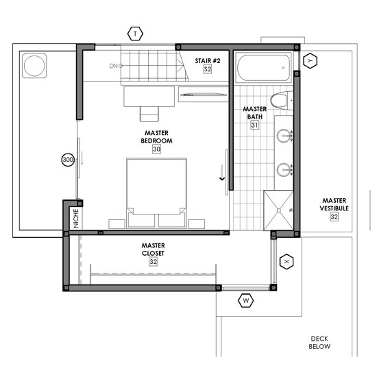 Small modern home plans find house plans Small modern home floor plans