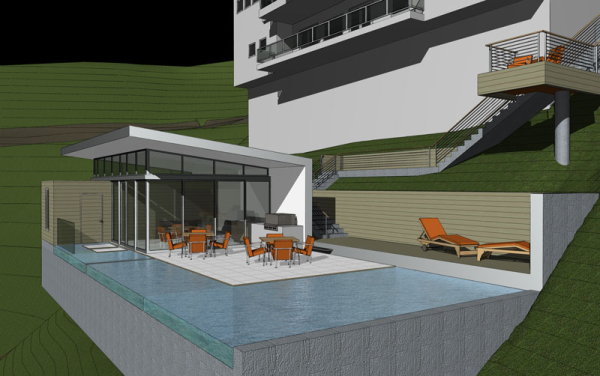 Modern Pool Modern Pools