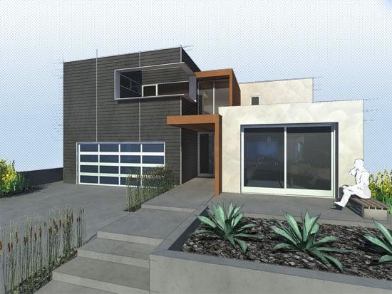 Long Beach Modern Remodel 360 House Modern Remodel Architects