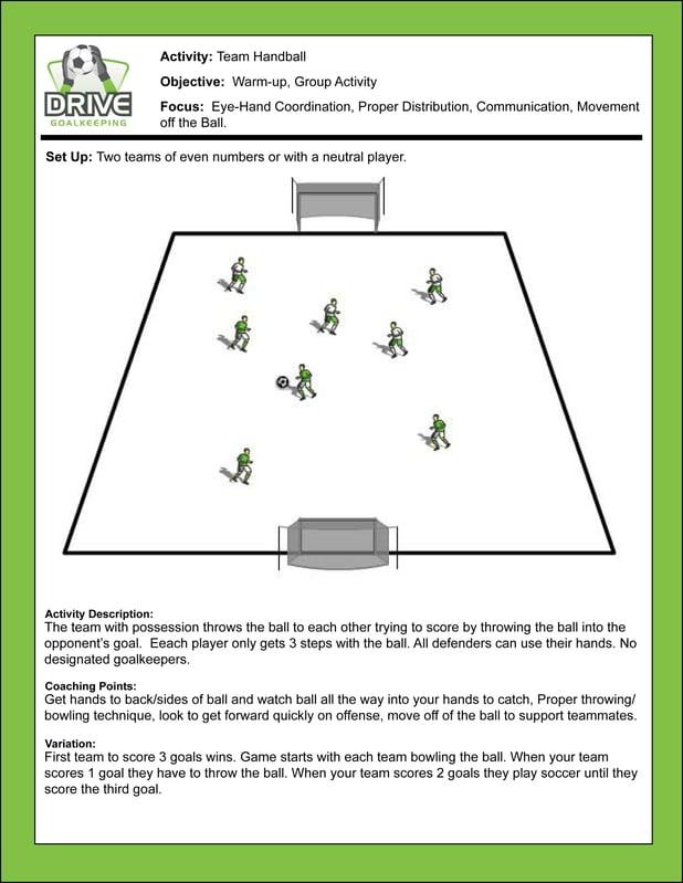 Coach's Corner: Team Handball