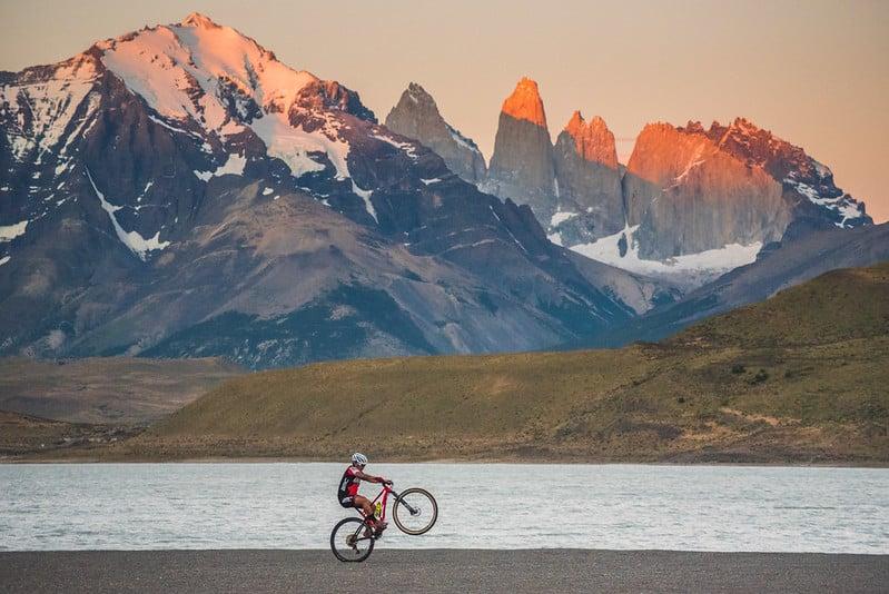 bike in patagonia