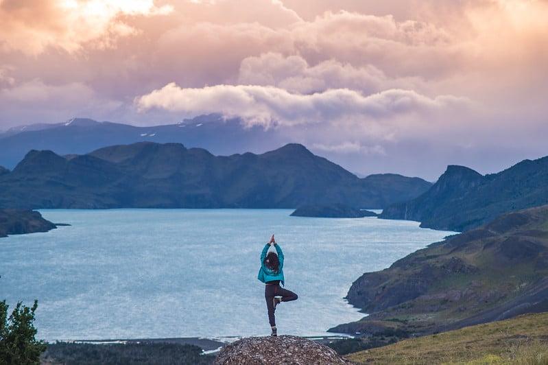 yoga in patagonia